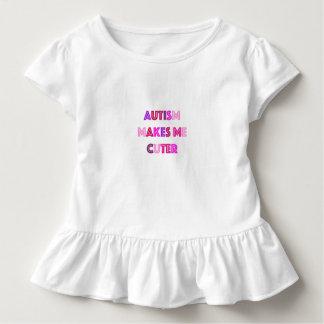 Autismus-niedlicheres Mädchen-Shirt Kleinkind T-shirt