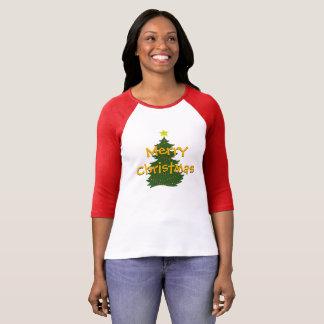 Autismus-Weihnachtsbaum-Shirt - Licht T-Shirt
