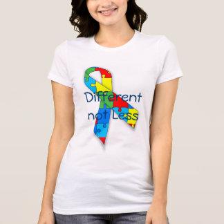 Autismusbewusstsein unterschiedlich nicht weniger T-Shirt
