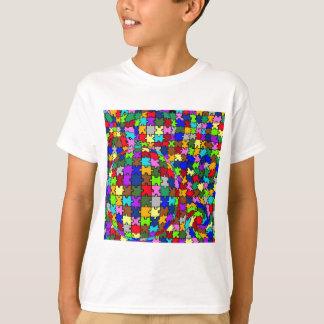 Autistische zackige Verzerrung T-Shirt