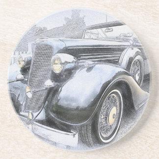 Auto-alte Auto-Vintage Autos Getränkeuntersetzer