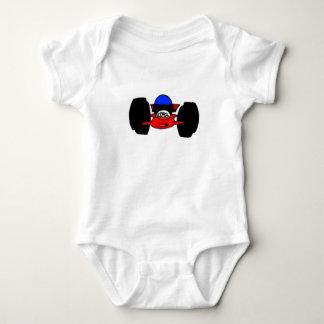 Auto, das Baby läuft Baby Strampler