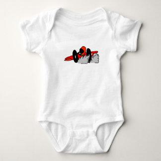 Auto, das Babyrauch läuft Baby Strampler