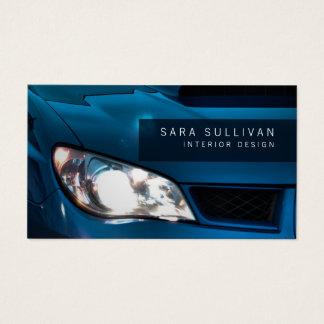 Auto Detailer glänzende Auto-Geschäfts-Karte Visitenkarte