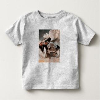 Auto gegen Zug durch William Harnden Pflege Kleinkinder T-shirt