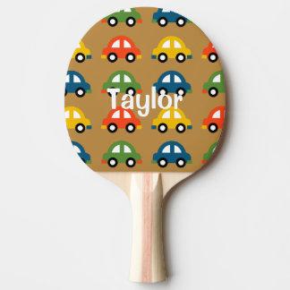 Auto-Klingeln pong Paddel Tischtennis Schläger