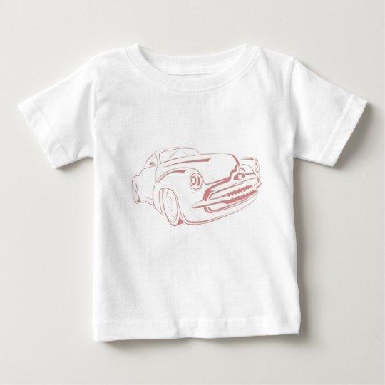 Auto-Kontur Baby T-shirt