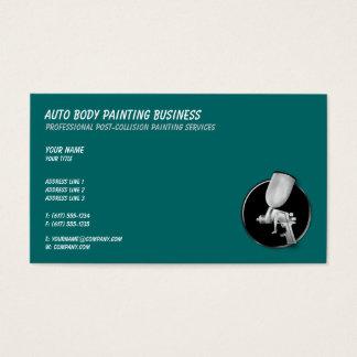 Auto-Körper, der | cool malt Visitenkarte
