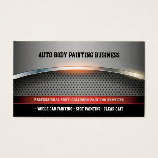 Auto-Körper, der | modern malt Visitenkarte