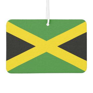 Auto-Lufterfrischer mit Flagge von Jamaika Autolufterfrischer
