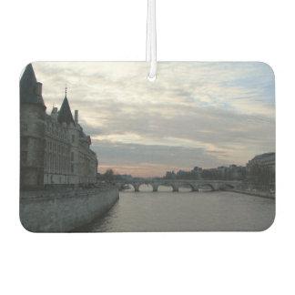 Auto-Lufterfrischer mit Sonnenuntergang in Paris Lufterfrischer