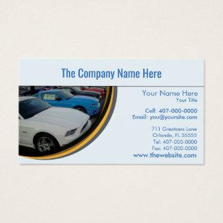 Auto Verkaufsstelle-Auto Visitenkarte