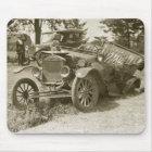 Auto-Wrack-Marinestadt MI s im Juli 1930 - Vintag Mousepad