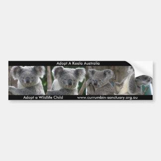 Autoaufkleber adoptieren einen Koala Australien