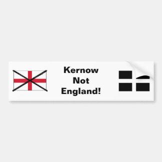 Autoaufkleber Cornwalls nicht England