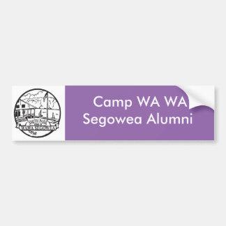 Autoaufkleber des Lager-WA WA Segowea!