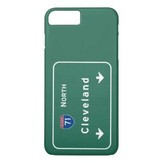 Autobahn-Autobahn Clevelands Ohio oh: iPhone 8 Plus/7 Plus Hülle