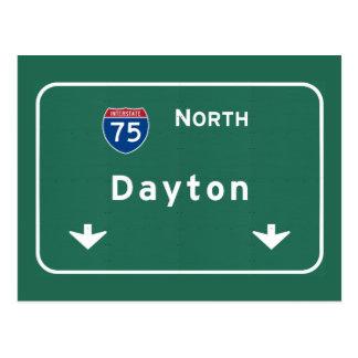 Autobahn-Autobahn Daytons Ohio oh: Postkarte