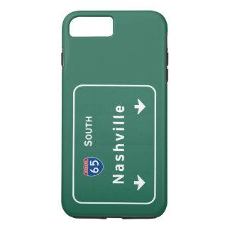 Autobahn-Autobahn Nashvilles Tennessee tn iPhone 8 Plus/7 Plus Hülle