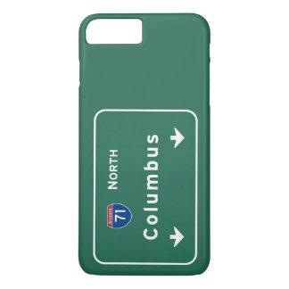 Autobahn-Autobahn-Straße Columbus Ohio oh: iPhone 8 Plus/7 Plus Hülle