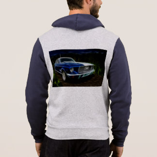 Autobeleuchtung Hoodie