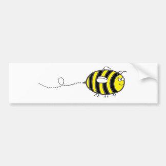 Autocollant De Voiture Ligne d'abeille