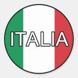 Autocollant d'euro de l'Italie Italie