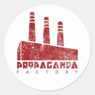 Autocollant d'usine de propagande