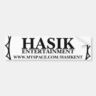 Autocollant officiel de Hasik Bumber Autocollant De Voiture