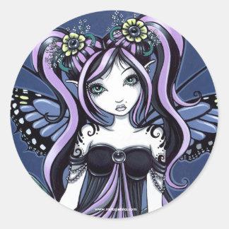 Autocollants de fée de fleur de Cassandra