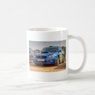 Autocollants de STi SWRT de Subaru Impreza Mug