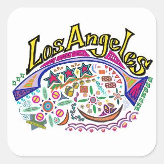 "Autocollants espiègles de ""Los Angeles"""