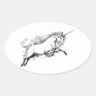 Autocollants magiques de licorne