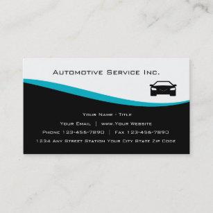 AutomobilDienstleistungsunternehmen-Karten Visitenkarte