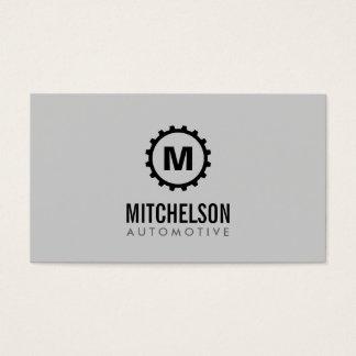 Automobilgang-Initialen-Auto-Reparatur, Mechaniker Visitenkarte