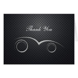 Automobilthema-Geschäft danken Ihnen Karten
