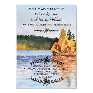 Autumn Seeeinladung 12,7 X 17,8 Cm Einladungskarte