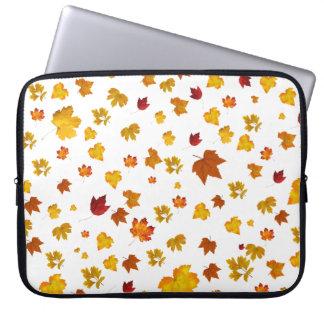 autumn time laptop sleeve