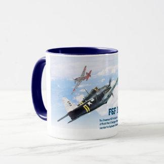"Aviation Art Mug ""F6F Hellcat"" Tasse"