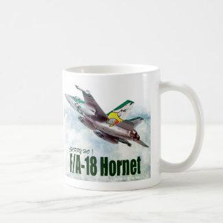 """Aviation Art Mug """"F/A-18 Hornet"""" Tasse"""
