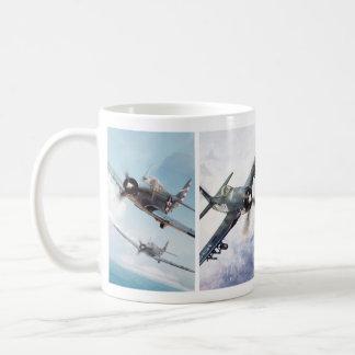 "Aviation Art Mug ""Fighter of World War II"" Tasse"