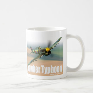 "Aviation Art Mug ""Hawker Typhoon"" Tasse"