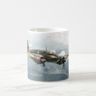 "Aviation Art mug ""Mitsubishi Ki-46 DINAH"" Kaffeetasse"