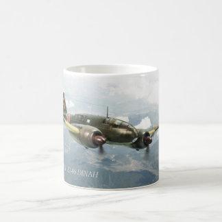 """Aviation Art mug """"Mitsubishi Ki-46 DINAH"""" Tasse"""