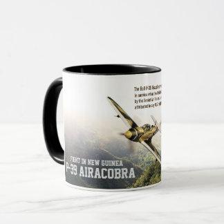 "Aviation Art Mug ""P-39 Airacobra"" Tasse"