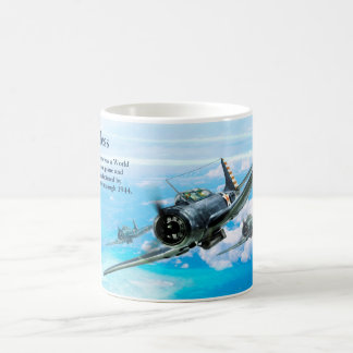 "Aviation Art Mug ""SBD Dauntless"" Kaffeetasse"