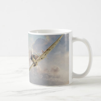 "Aviation art mug ""Spitfire"" Kaffeetasse"