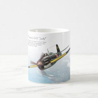 "Aviation Art Mug ""Yokosuka D4Y Judy"" Kaffeetasse"