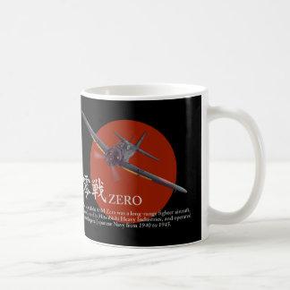 "Aviation Art mug ""Zero Fighter""零戦 Tasse"