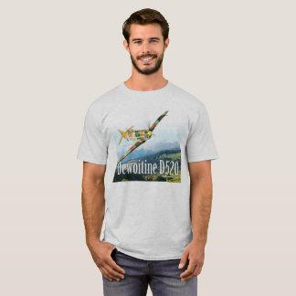 """Aviation Art T-shirt """"Dewoitine D.520"""""""